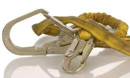 Harness de la seguridad en el trabajo Imagen de archivo libre de regalías