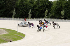 Harness racecourse Royalty Free Stock Image