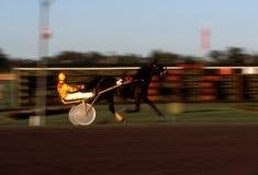 Harness Racing Blur 2 Stock Image