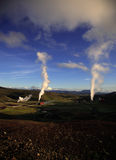 Harnessing geothermal power Royalty Free Stock Photo
