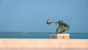 Harnessing the World sculpture, , Katara, Doha, Qatar Royalty Free Stock Photos
