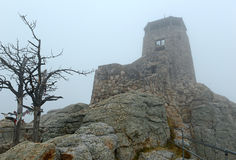 Harney Peak in the Black Hills, South Dakota Royalty Free Stock Photo