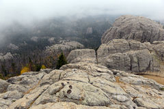 Harney Peak in the Black Hills, South Dakota Royalty Free Stock Photos