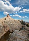 Harney-Spitzen-Feuer-Ausblick-Turm in Custer State Park im Black Hills von Sd lizenzfreies stockbild