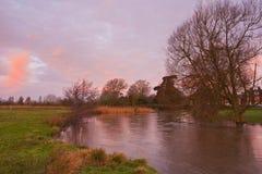 Harnham water meadows Stock Images