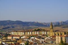 Haro, La Rioja, Spain. Village of great wine tradition in La Rioja, Haro, Spain royalty free stock photography