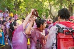 Haro Wine Festival, La Rioja Imágenes de archivo libres de regalías