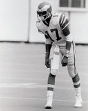Harold Carmichael, Philadelphia Eagles Imagens de Stock