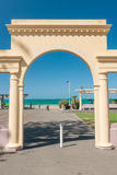 The Harold Latham Arch Napier New Zealand Royalty Free Stock Photo