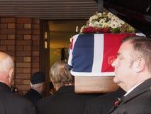 Harold Percival Funeral Fotografia Stock Libera da Diritti