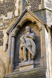 Harold Statue en Waltham Abbey Church Fotos de archivo