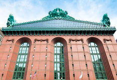 Harold Washington Library Center building in downtown Chicago. Royalty Free Stock Photography
