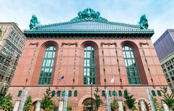 Harold Washington Library Center building in downtown Chicago. Stock Photos