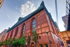 Harold Washington Library Center - Chicago Stock Image