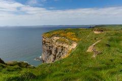 Haroldstone Chins Wales Coast Path Pembrokeshire Stock Photos