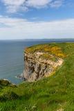Haroldstone Chins Wales Coast Path Pembrokeshire Royalty Free Stock Photo