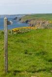 Haroldstone Chins Wales Coast Path Pembrokeshire Royalty Free Stock Photos