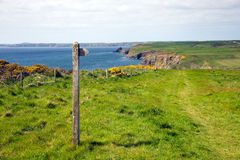 Haroldstone Chins Wales Coastal Path Pembrokeshire Royalty Free Stock Images