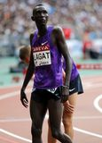 Haron Lagat Areva meeting at the Stade de France Royalty Free Stock Images