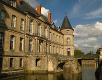 haroue för de france för 03 chateau royaltyfri fotografi