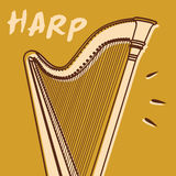 Harp vector Stock Photo