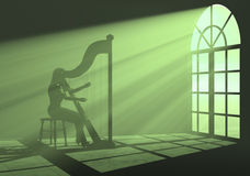 harp Fotografia Royalty Free