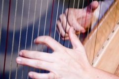 Harp Royalty Free Stock Photos