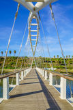 The Harp Bridge, Hadera Stock Images