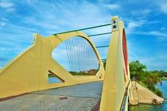 The harp bridge sunset Stock Image