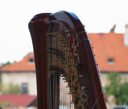 Harp classic instrument Royalty Free Stock Photos
