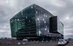 Harpa concert hall in Reykjavik Stock Photography
