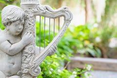 Harp Cupid Royalty Free Stock Photos