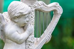 Harp cupid Stock Images