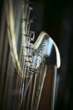Harp Detail Royalty Free Stock Images