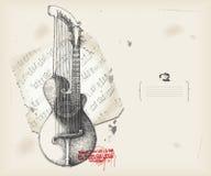 Harp-guitar Royalty Free Stock Photo