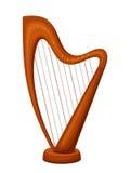 harp Ilustração do vetor Foto de Stock Royalty Free