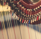 Harp instrument Royalty Free Stock Image