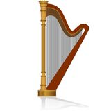 Harp Royalty Free Stock Images