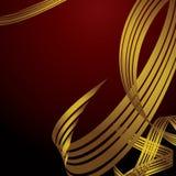 Harp ribbon Royalty Free Stock Photo