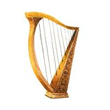 Harp royalty free stock photography
