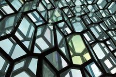 Harpa音乐堂-冰岛 免版税库存照片