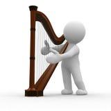 Harpa Imagem de Stock Royalty Free