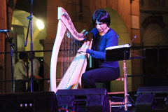 A harpa celta fotos de stock royalty free