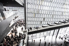 Harpa Concert Hall Images libres de droits