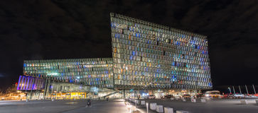 Harpa Concert Hall Royalty Free Stock Photography