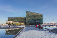 Harpa Concert Hall Photo stock