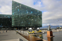 Harpa Concert Hall Stock Foto