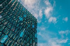 Harpa Concert Hall and Conference Centre, Iceland, Reykjavik royalty free stock photography