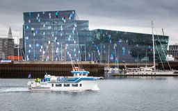 Harpa Concert Hall And Conference Centre royalty free stock photography