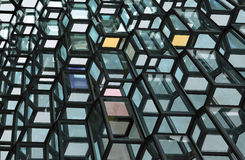 Harpa Concert Hall - Iceland Royalty Free Stock Images